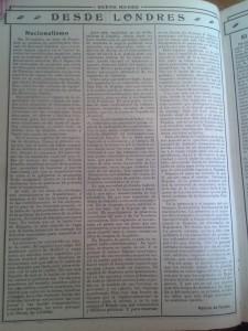 """Imagen del artículo de Ramiro de Maeztu, """"Nacionalismos"""""""