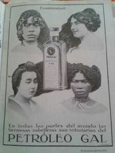"""Publicidad de 'Petróleo Gal' en """"Nuevo Mundo""""."""