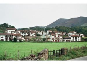 Vista del barrio de Bozate en la actualidad.
