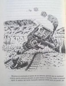 """Una de las ilustraciones de Robert Crumb para """"La banda de la tenaza."""""""